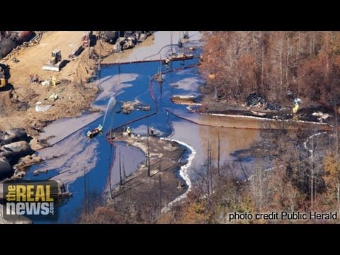 Oil Spill in Alabama Spreads As Mucked Cleanup Persists pt. 1