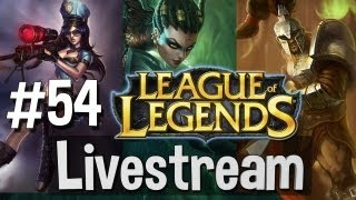 LIVESTREAM #54 League Of Legends Ranked