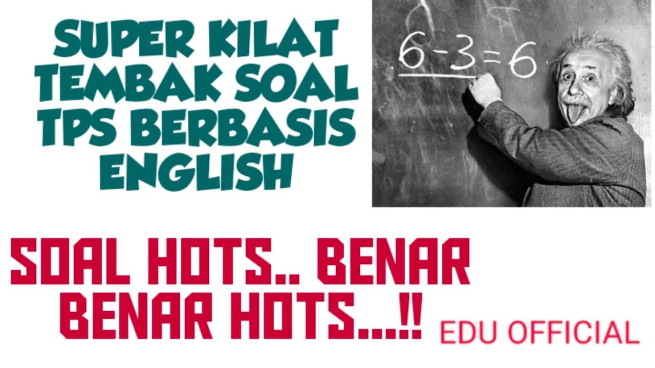 SOAL TPS UTBK 2020  SUPER KILAT TEMBAK SOAL TPS BERBASIS ...