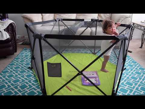 Summer Infant Pop N' Play Portable Playard Review!