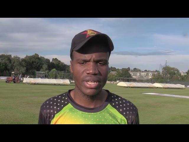 Milton Shumba | Post-Match Interview | 1st T20I | Scotland vs Zimbabwe