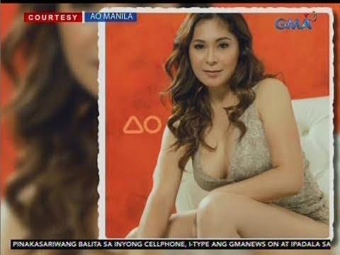 24 Oras: Sheryl Cruz, sexy and revealing bilang cover girl ng isang online magazine