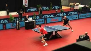 DM Finale 2012 i Bordtennis - Jonathan Groth vs Allan Bentsen
