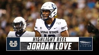Utah State QB Jordan Love Highlight Reel - 2019 Season | Stadium