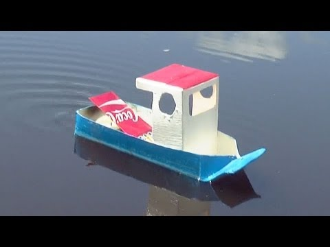 How To Make Simple Pop Pop Boat