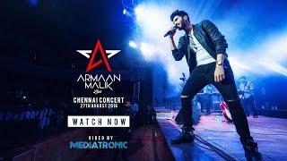 armaan malik live in chennai  the aftermovie