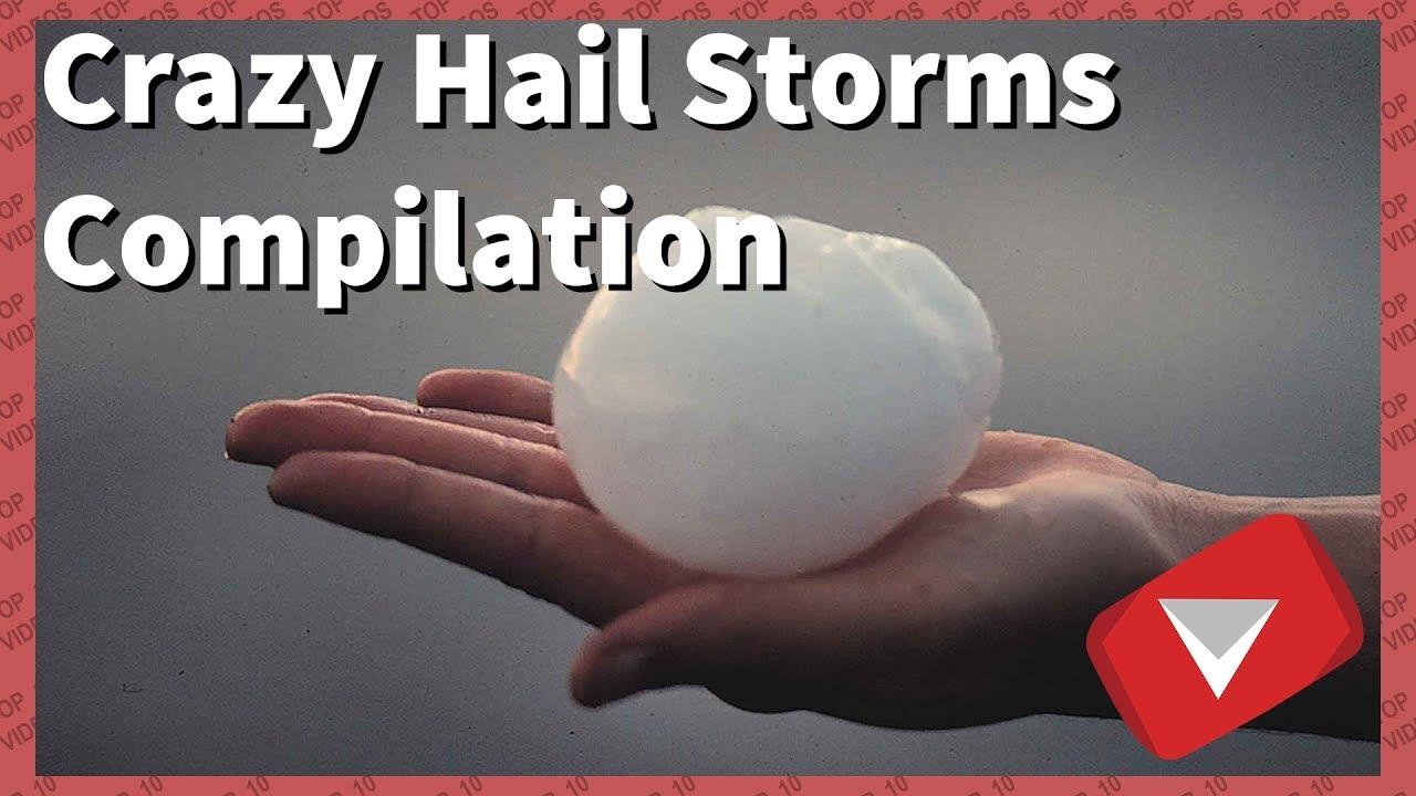 Epic Hailstorm Videos!