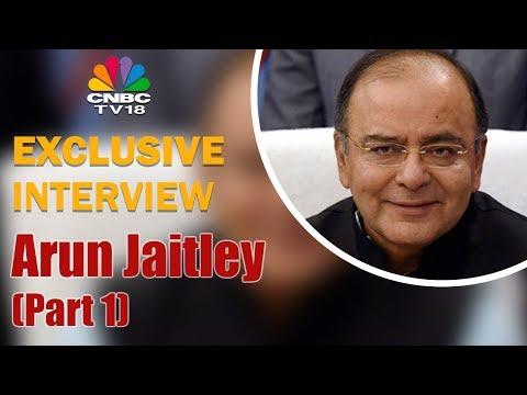 Arun Jaitley Exclusive Interview | PSBs' Capital Call Answered | FM Interview (Part 1) | CNBC TV18