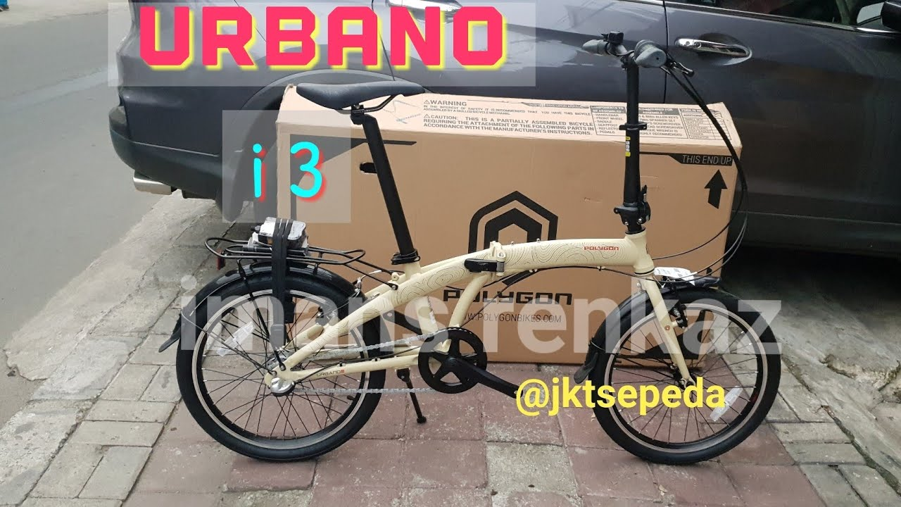 Sepeda Lipat Polygon Urbano i3 tahun 2019 | Terbaru