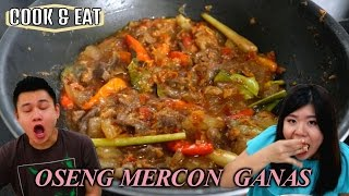 """""""COOK&EAT"""" OSENG MERCON GANAS ALA NENG ELI"""