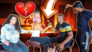 I'M IN LOVE WITH CARMEN PRANK ON COREY FROM CARMEN & COREY AND GIRLFRIEND