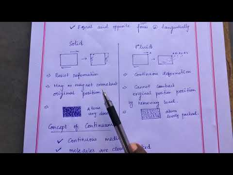 Fluid mechanics introduction part 2 in Tamil