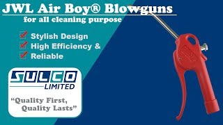 JWL Air Boy® Blowguns for all cleaning purposes