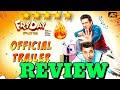 Official Trailer: FRYDAY Review | Govinda | Varun Sharma | 12th October | Govinda Movie Review News