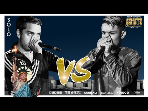 Audical Vs PingPong Po | Solo Top 16 Battle | ABCX | American Beatbox Championships 2019