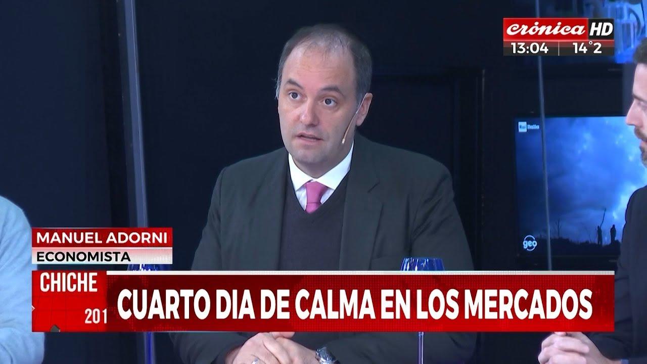 """Image result for Manuel Adorni en """"Chiche 2019"""" de Gelblung; por Crónica TV - 06/09/19"""
