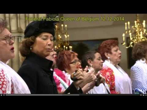 funeral Queen Fabiola
