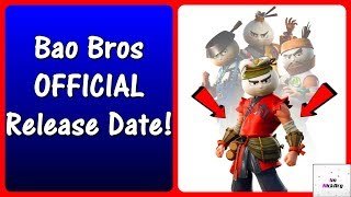 *NEW* Bao Bros Skin Set Release Date! (When It Will Come Out) | Fortnite