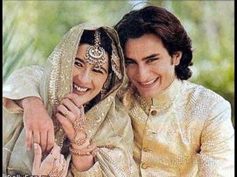 Amrita Singh & Saif Ali Khan Family Photos - YouTube