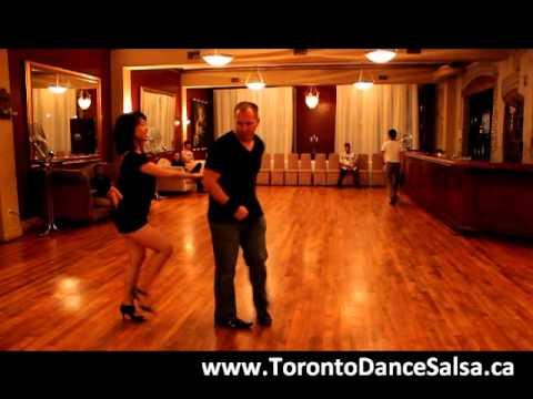 Toronto Dance Salsa Beginner Salsa Combination #7