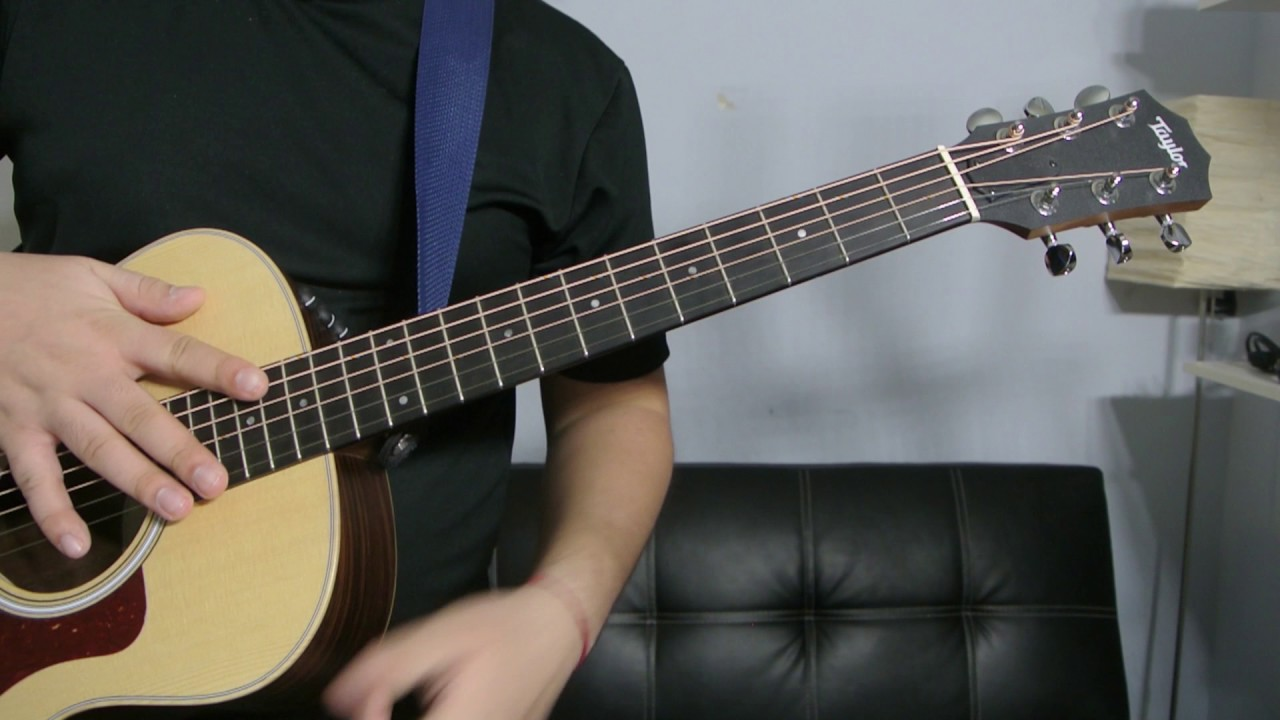 How To Play A A6 Chord Guitar Tutorial Youtube