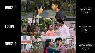 Arjun Reddy vs Kabir Singh vs Aditya Varma | Home proposal scene | Who did it better ?
