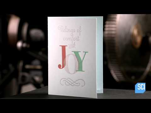See How Traditional Letterpress Printing Creates Beautiful Greeting Cards