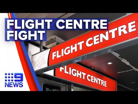 Coronavirus: Flight Centre Threatened With Class Action | Nine News Australia