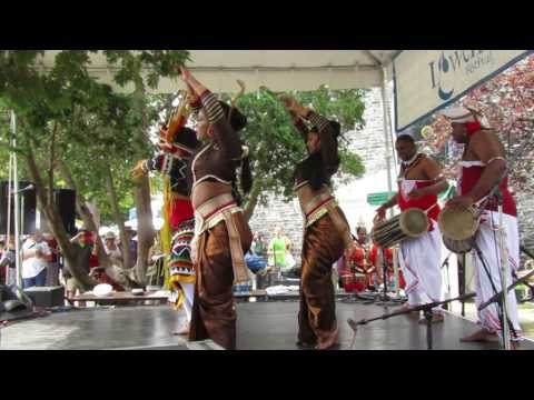 Sri Lankan Dance Academy of NY  at the Lowell Folk Festival 2016