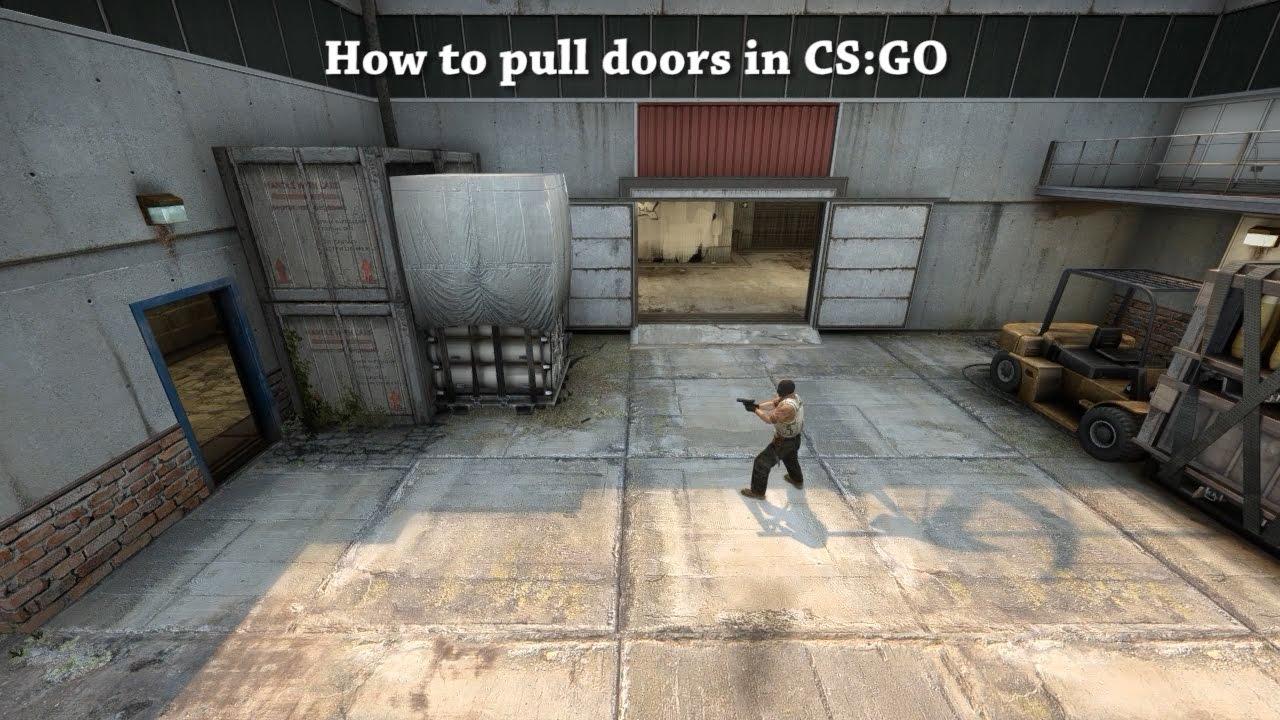 How to pull doors open in CSGO & How to pull doors open in CS:GO - YouTube