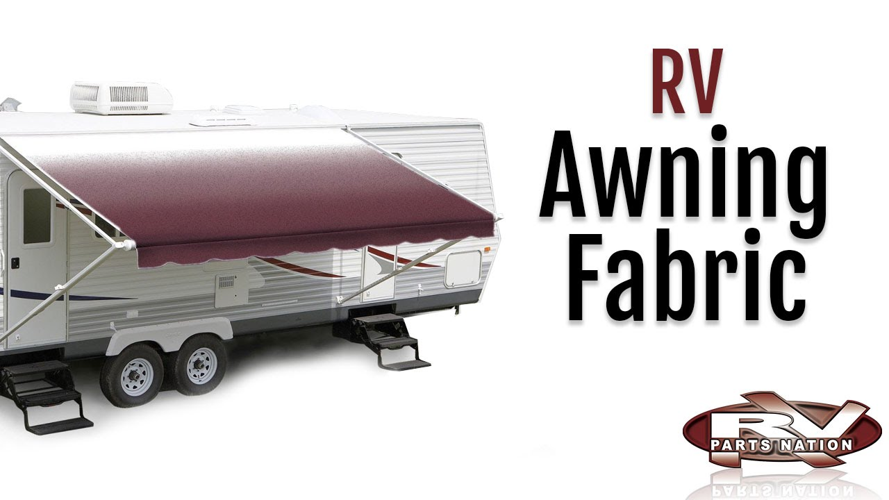 RV Awning Fabric - YouTube