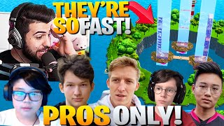 I Hosted A *PRO PLAYER ONLY* Fastest 90's Contest! (Fortnite Battle Royale)