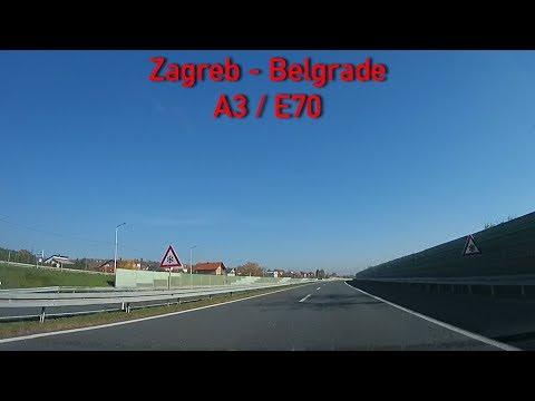 A3/E70 Zagreb - Belgrade 2x Speed