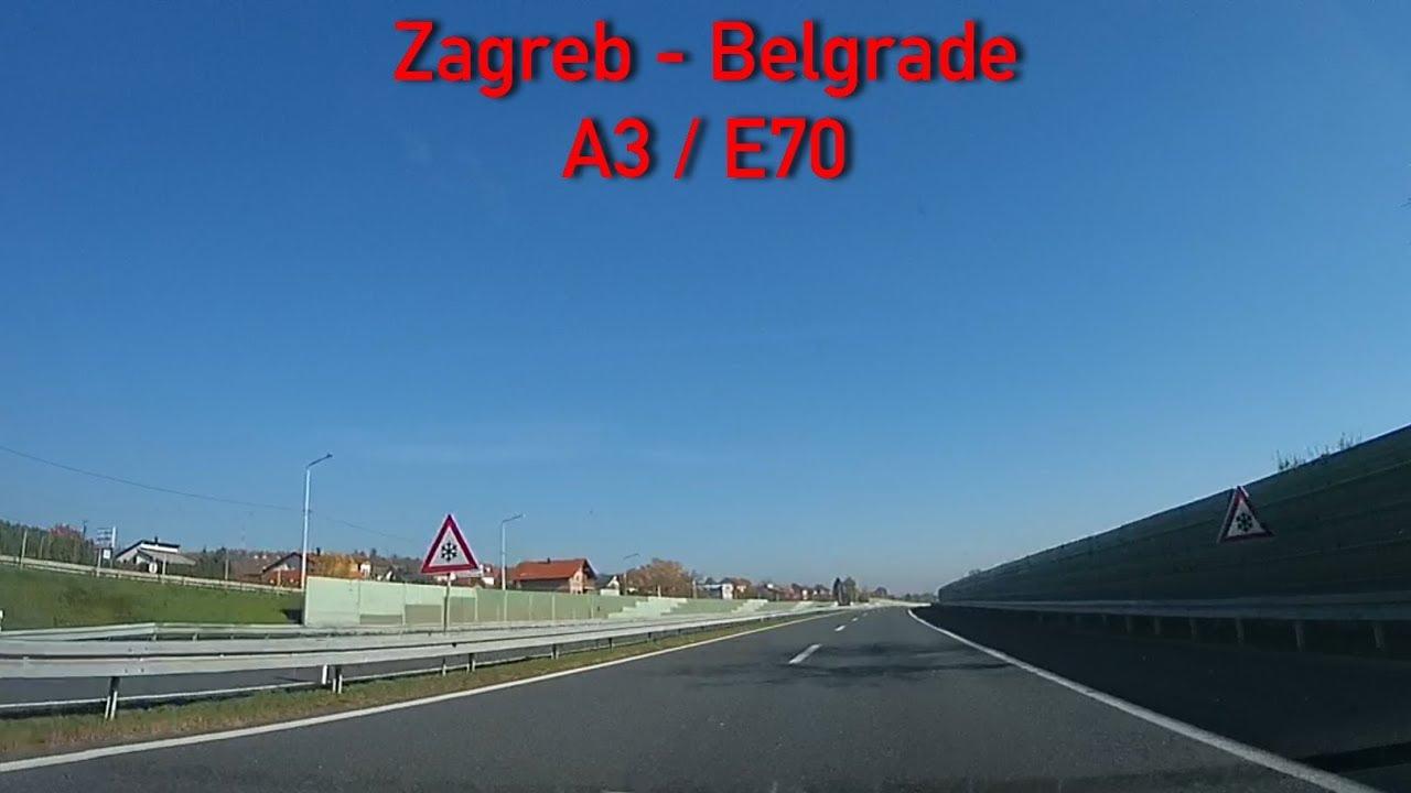 A3 E70 Zagreb Belgrade 2x Speed Youtube