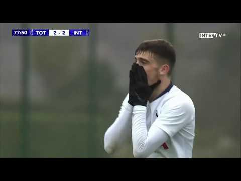 Troy Parrott Vs Inter U19's (UEFA Youth League)