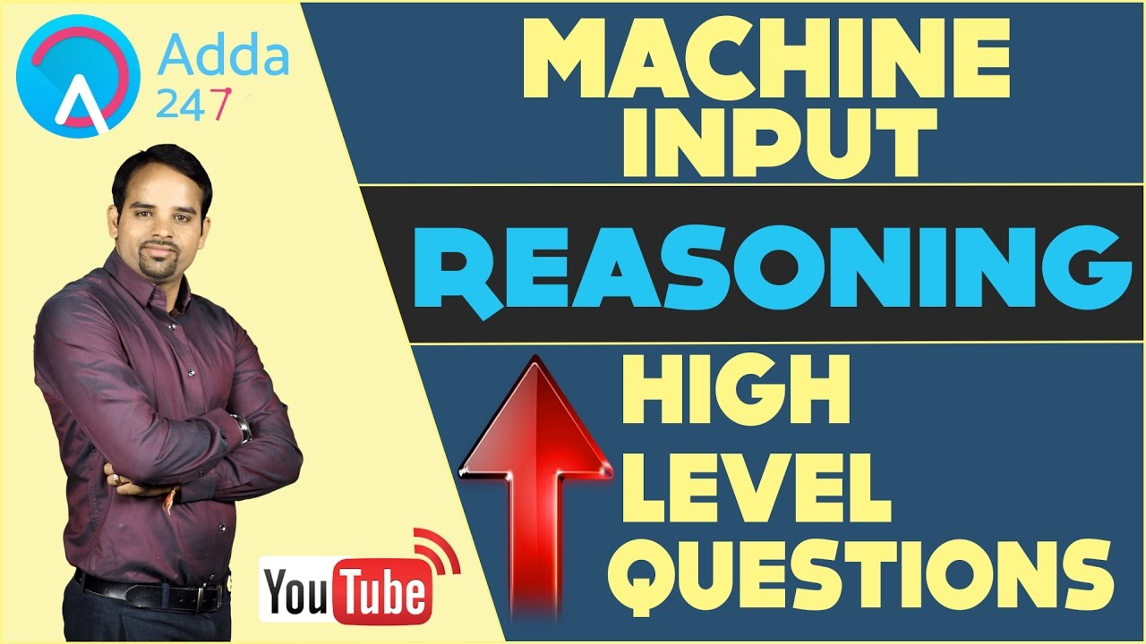 machine input high level questions for banking ssc. Black Bedroom Furniture Sets. Home Design Ideas