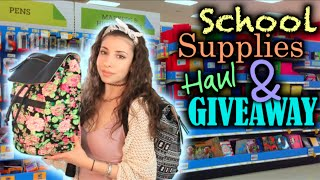 Back to School Supplies Haul 2014 + HUGE GIVEAWAY!!! Thumbnail