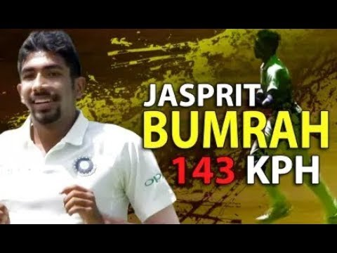 jasprit Bumrah fastest delivery 143km/h against South Africa tour 2018