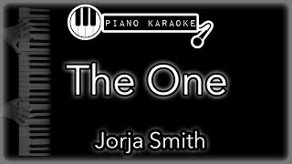 The One - Jorja Smith - Piano Karaoke
