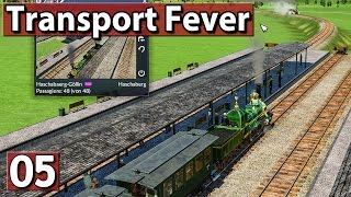 Neue GROSSE ZÜGE ► Transport Fever Gameplay deutsch #5 PREVIEW ►