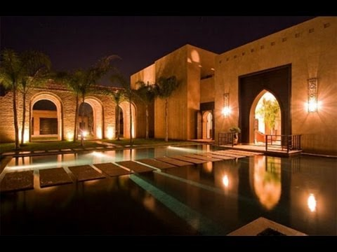 Moroccan Palace & Moroccan Architecture Style