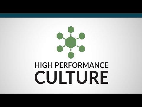 6 Characteristics Of A High Performance Culture