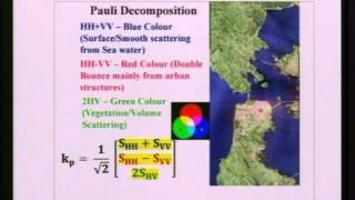 IIRS EDUSAT Lecture 25 feb 2014 Basic of SAR Polarimetry by Shashi Kumar Part 2