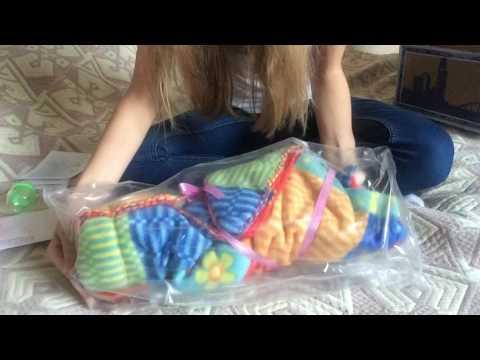 🌹Reborn Baby Box Opening (Amelia by Joanna Kazmerczak)/ распаковка куклы реборн🌹