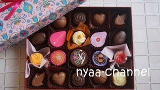 ゴンチャロフ フロールデコールA 箱も中身もお花がいっぱいのバレンタインチョコ