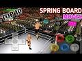 Top 10 Springboard Moves   Wr3d