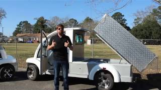Bintelli Electric Vehicles - Enclosed Utility Deluxe (Custom) - Electric Cargo Truck Cart For Sale