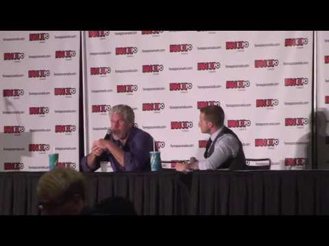 Celebrity Q & A session with RON PERLMAN Part 1 [Fan Expo 2013]