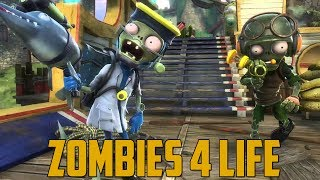 ZOMBIES 4 LIFE! (Plants vs Zombies: Garden Warfare - PC)