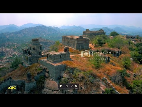 GINGEE - Troy of the East (Teaser of the Aerial Film | Helicam Video) | Puhaipadam Films
